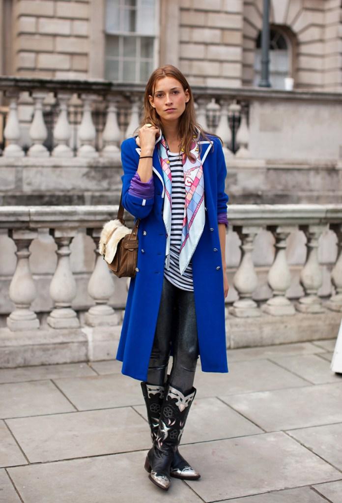 Способы завязывания шарфов и платков