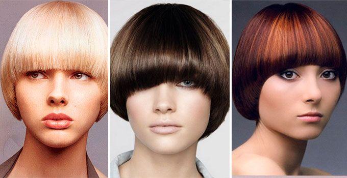 Французская стрижка на средние волосы